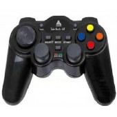 JOYPAD TWIN SHOCK R-7 CLONE WIRELESS S/N 04.40 PARA PS1 PS2