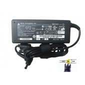 FONTE PARA NOTEBOOK HP DELL AC ADAPTER DELTA ADP-75SB BB + CABO DE FORÇA