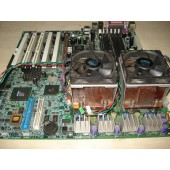 KIT PLACA MÃE SONY SERVER MS-9133 VER: 100 + 2 INTEL XEOX 3.06 + MEMORIA HP 256MB ECC