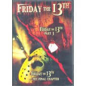 DVD DUPLO FRIDAY THE 13TH PART 3 + THE FINAL CHAPTER IMPORTADO