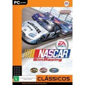 GAME PC NASCAR SIM RACING PC-CD ORIGINAL NOVO