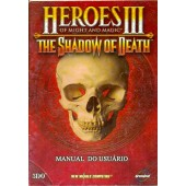 MANUAL ORIGINAL EM PORTUGUES GAME PC HEROES 3 OF MIGHT AND MAGIC THE SHADOW OF DEATH