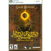 MANUAL ORIGINAL EM INGLES GAME PC LORD OF THE RINGS SHADOWS OF ANGMAR ONLINE