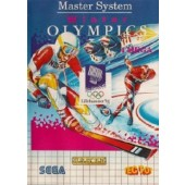 CARTUCHO MASTER SYSTEM WINTER OLYMPICS 94 COM MANUAL