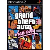 GAME PS2 PLAYSTATION 2 GTA GRAND THEFT AUTO VICE CITY