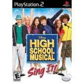 GAME PS2 PLAYSTATION 2 HIGH SCHOOL MUSICAL SING IT