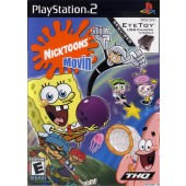 GAME PS2 PLAYSTATION 2 NICKTOONS MOVIN