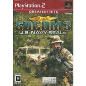 GAME PLAYSTATION 2 PS2 SOCOM 3 U.S. NAVY SEALE