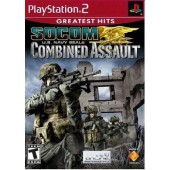 GAME PLAYSTATION 2 PS2 SOCOM U.S. NAVY SEALE COMBINED ASSAULT