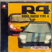 GAME PS1 R4 RIDGE RACER TYPE 4 CD PRATA SEM MANUAL