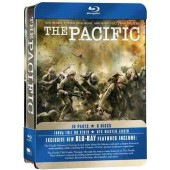BLUE RAY BOX DE LATA THE PACIFIC SERIE COMPLETA COM 6 DISCOS