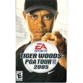 MANUAL ORIGINAL EM INGLES GAME PC TIGER WOODS PGA TOUR 2005