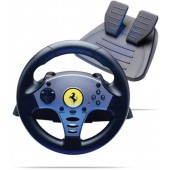 VOLANTE THRUSTMASTER FERRARI CHALLENGE RACING WHEEL PS1 e PS2