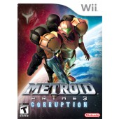 GAME WII METROID PRIME 3  CORRUPTION