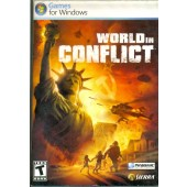 MANUAL ORIGINAL EM INGLES GAME PC WORLD IN CONFLICT