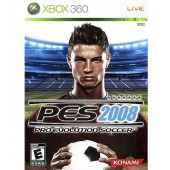 GAME XBOX 360 PRO EVOLUTION SOCCER PES 2008