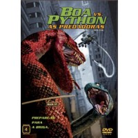 DVD BOA VS. PYTHON AS PREDADORAS