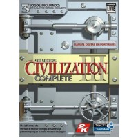 GAME PC CIVILIZATION 3 COMPLETE + EXPANSÕES PLAY THE WORLD + CONQUEST