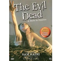 DVD THE EVIL DEAD A MORTE DO DEMONIO FILME DE SAM RAIMI