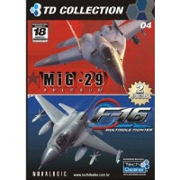 GAME PC F16 MULTIROLE FIGHTER + MIG 29 FULCRUM