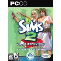 GAME PARA PC THE SIMS 2 VIDA DE UNIVERSITARIO PC-CD NOVO