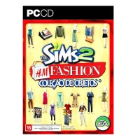 GAME PC THE SIMS 2: H&M FASHION COLEÇÃO DE OBJETOS - CD-ROM