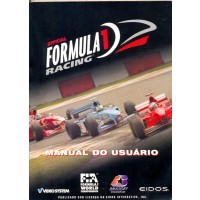 GAME PC FORMULA 1 RACING BRASOFT 1999 MANUAL EM PORTUGUES