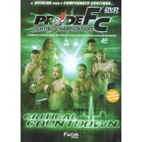 DVD DUPLO PRIDE FC CRITICAL COUNT DOWN