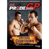DVD DUPLO PRIDE GP 2006 CRITICAL COUNDOWN ABSOLUTE OPEN WEIGHT SECOND ROUND