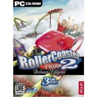 GAME PC ROLLER COASTER TYCOON 2 DELUXE EDITION + EXPANSÕES WACKY WORLDS + TIME TWISTER
