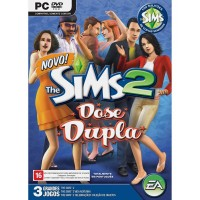 GAME PC THE SIMS 2 DOSE DUPLA DVD-ROM