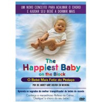 DVD THE HAPPIEST BABY O BEBE MAIS FELIZ DO PEDAÇO HARVEY KARP - LEGENDAS EM PORTUGUES