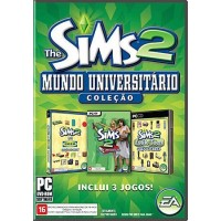 GAME PC THE SIMS 2 MUNDO UNIVERSITÁRIO ORIGINAL E LACRADO